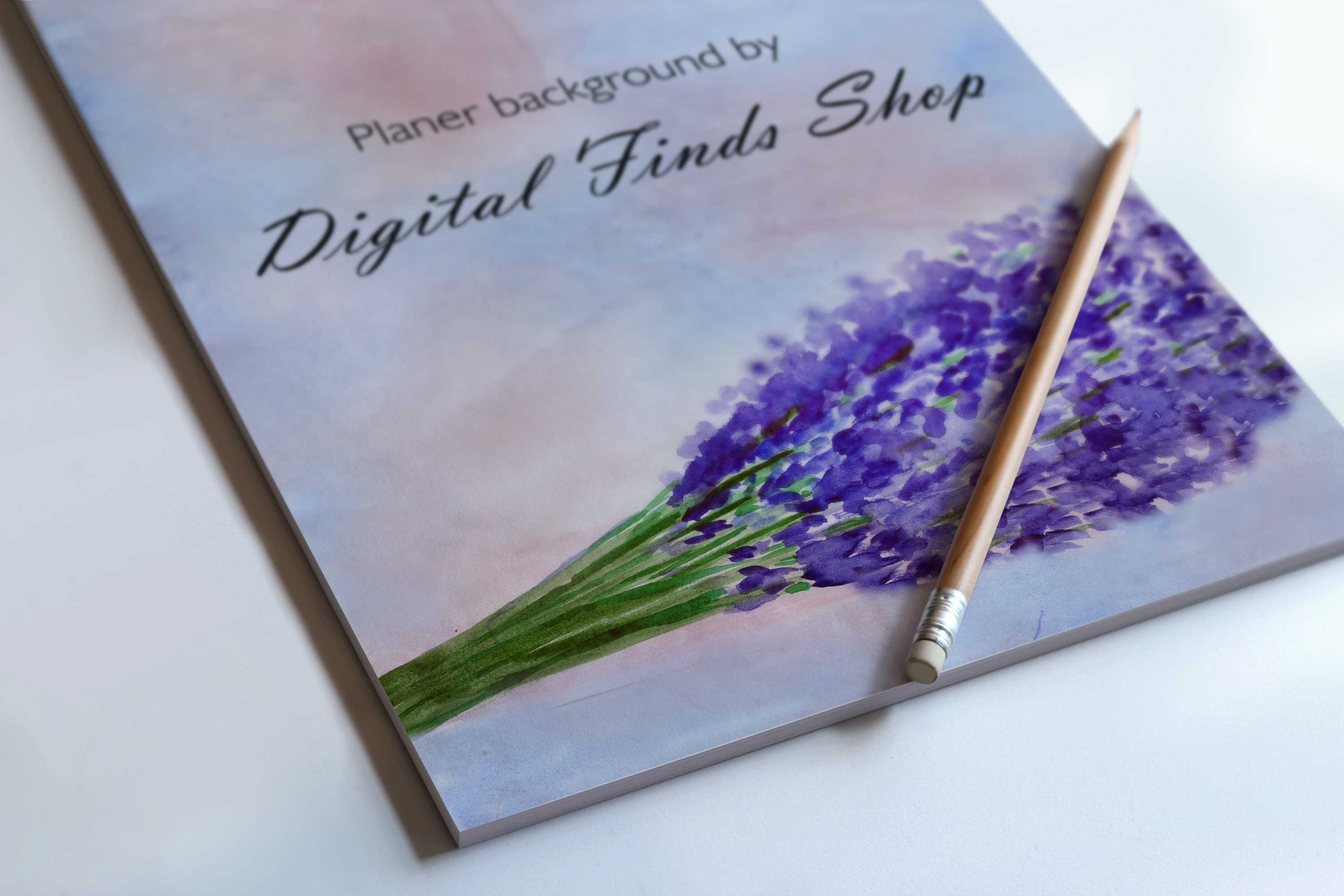 Lilac digital paper, background set 5 in 1 example image 2