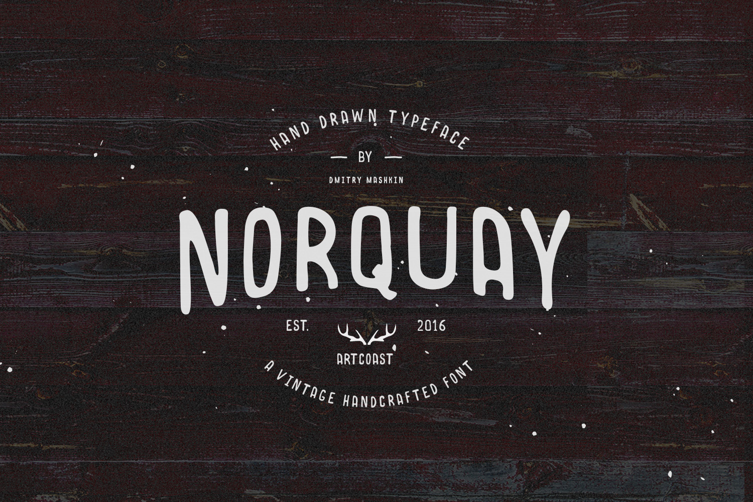 Norquay - Hand Drawn Font example image 1