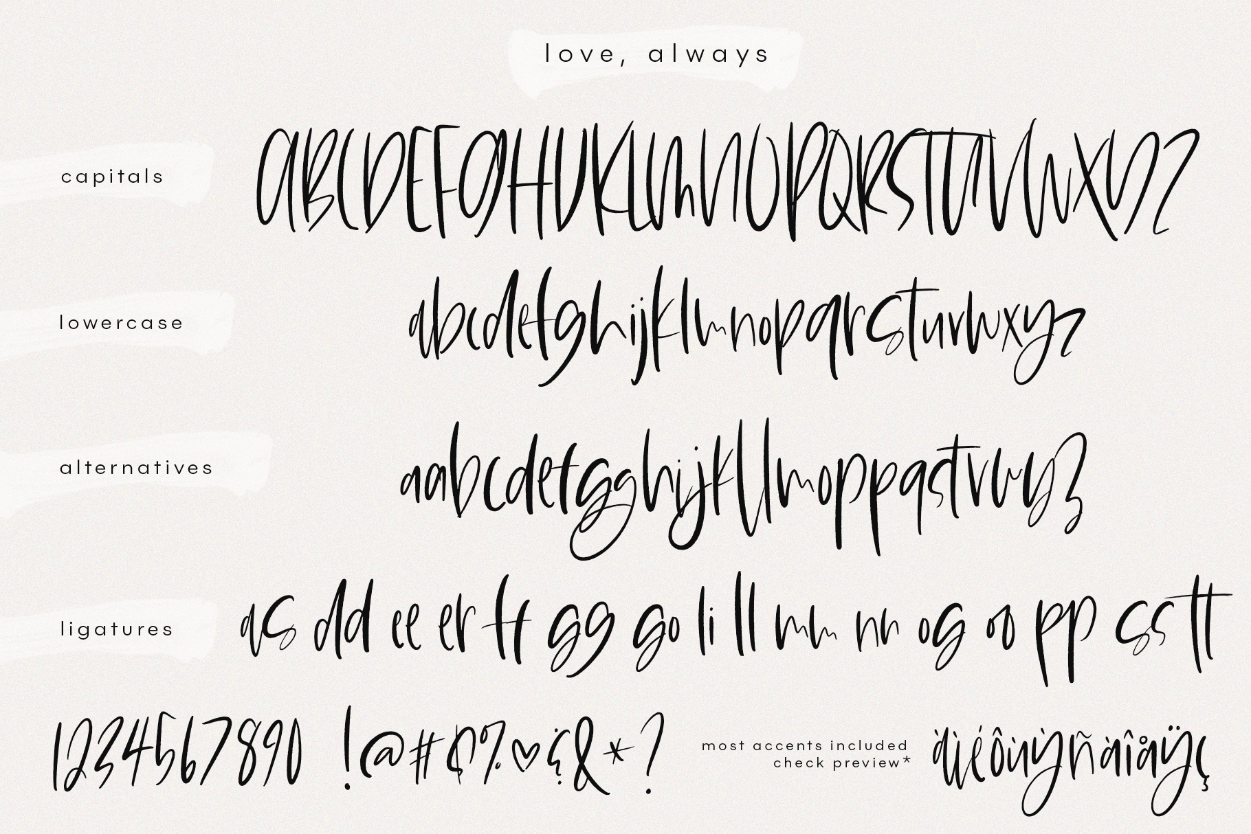 Love Always - A Handwritten Font example image 12