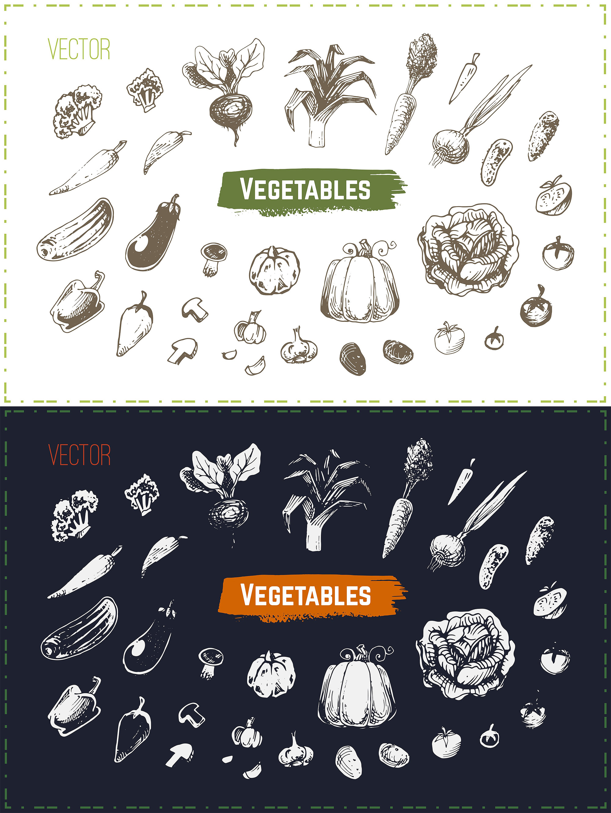Hand drawn cooking and food icons example image 20