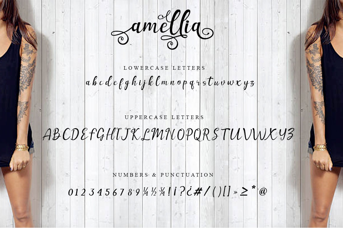 Amellia Beauty Script example image 4