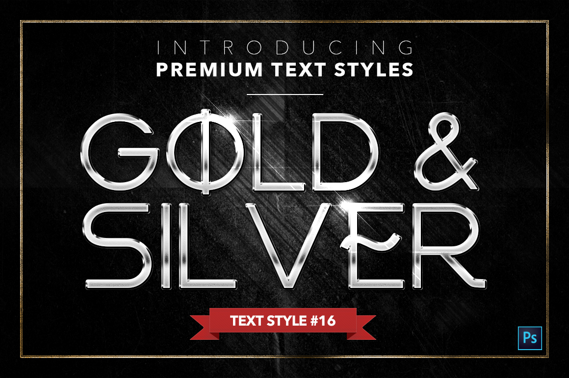Gold & Silver #4 - 20 Text Styles example image 9