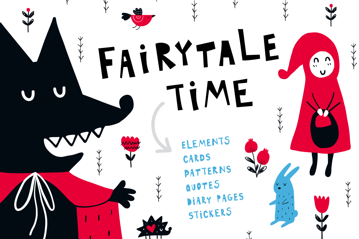 Fairytale Time - Clipart Collection example image 1