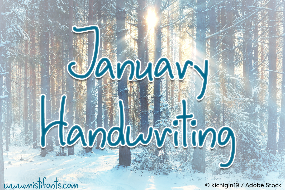 January Handwriting example image 1