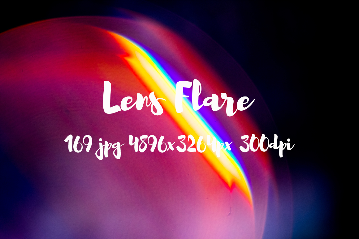 Lens Flare Pack example image 8