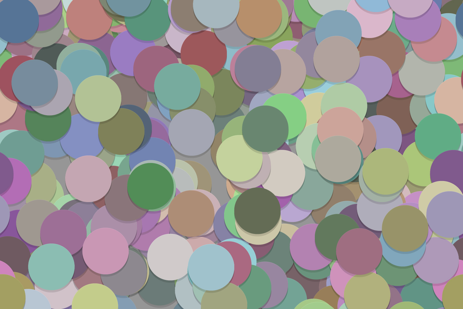 40 Seamless Circle Backgrounds (AI, EPS, JPG 5000x5000) example image 3