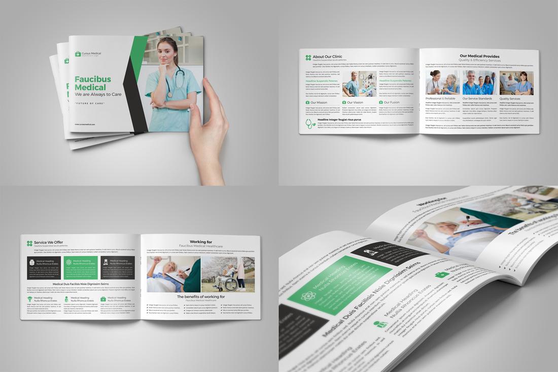 Medical HealthCare Brochure Bundle example image 6