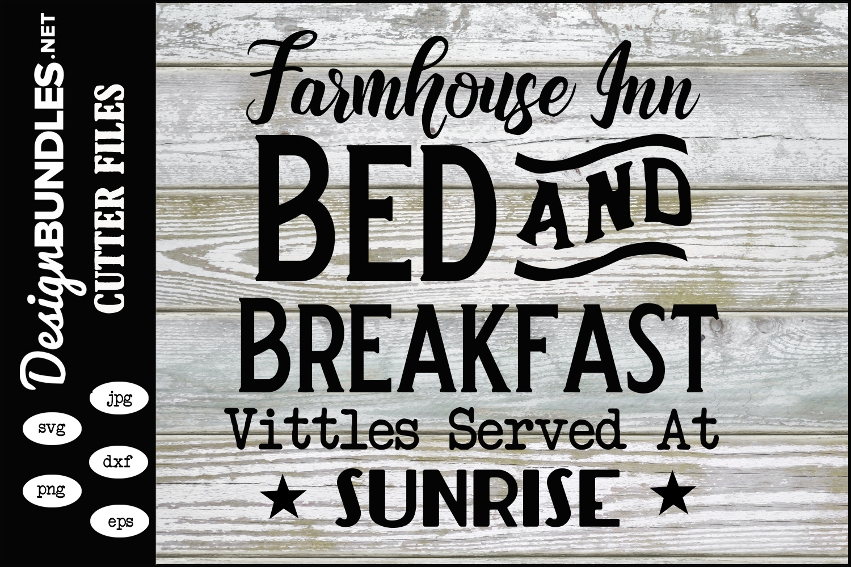 Farmhouse Inn SVG example image 1