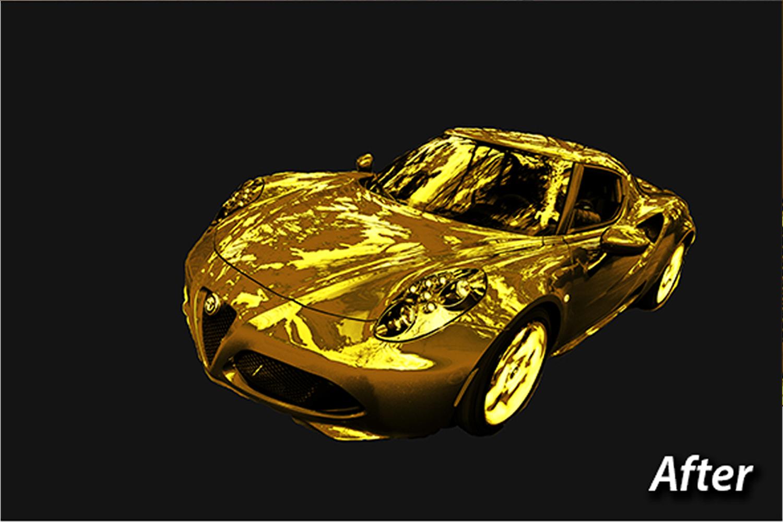 Gold Photo Manupulation Action  example image 7