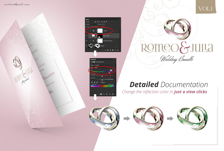 Romeo & Julia - Wedding Bundle Vol.1 example image 3