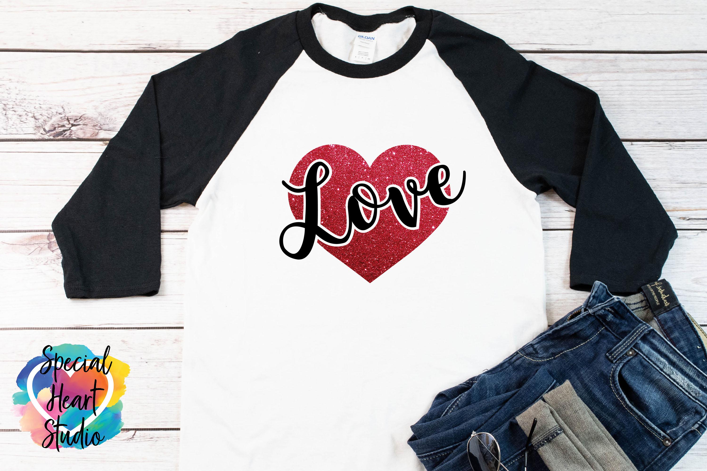 Love SVG - Valentine Heart example image 1