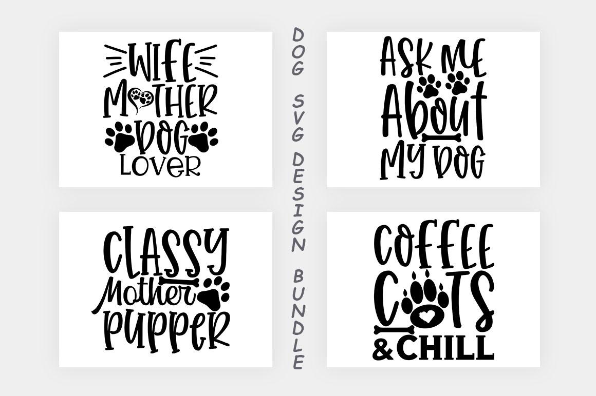 Dog SVG Design Bundle example image 12