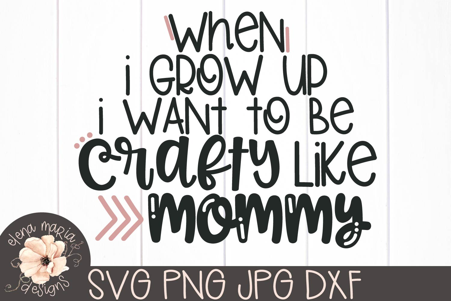 Craft Humor Svg | Mothers Day | Mommy | Kids Shirt Svg example image 2