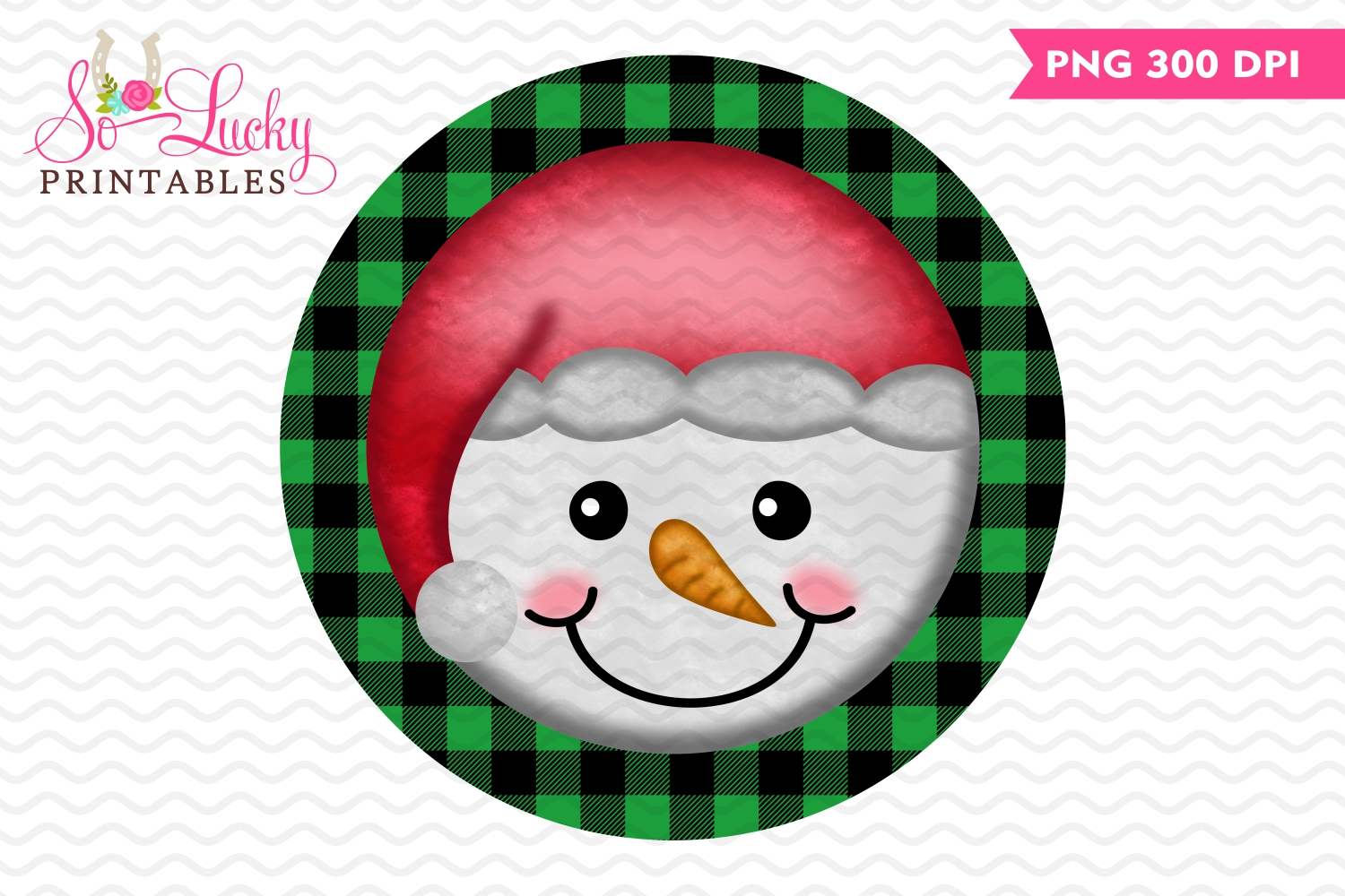 It is a picture of Printable Snowman Face with applique