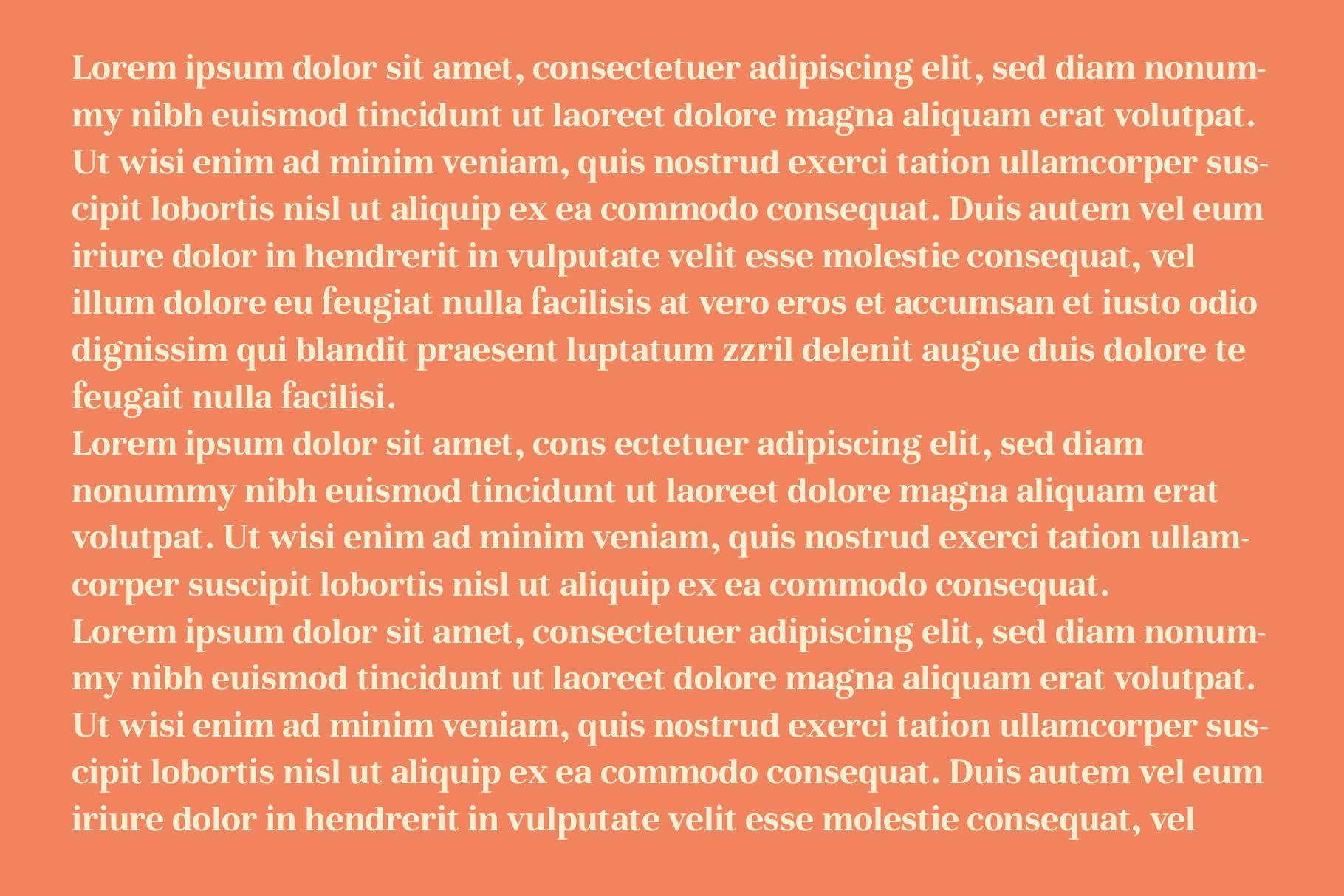Glory - Round Serif font example image 6