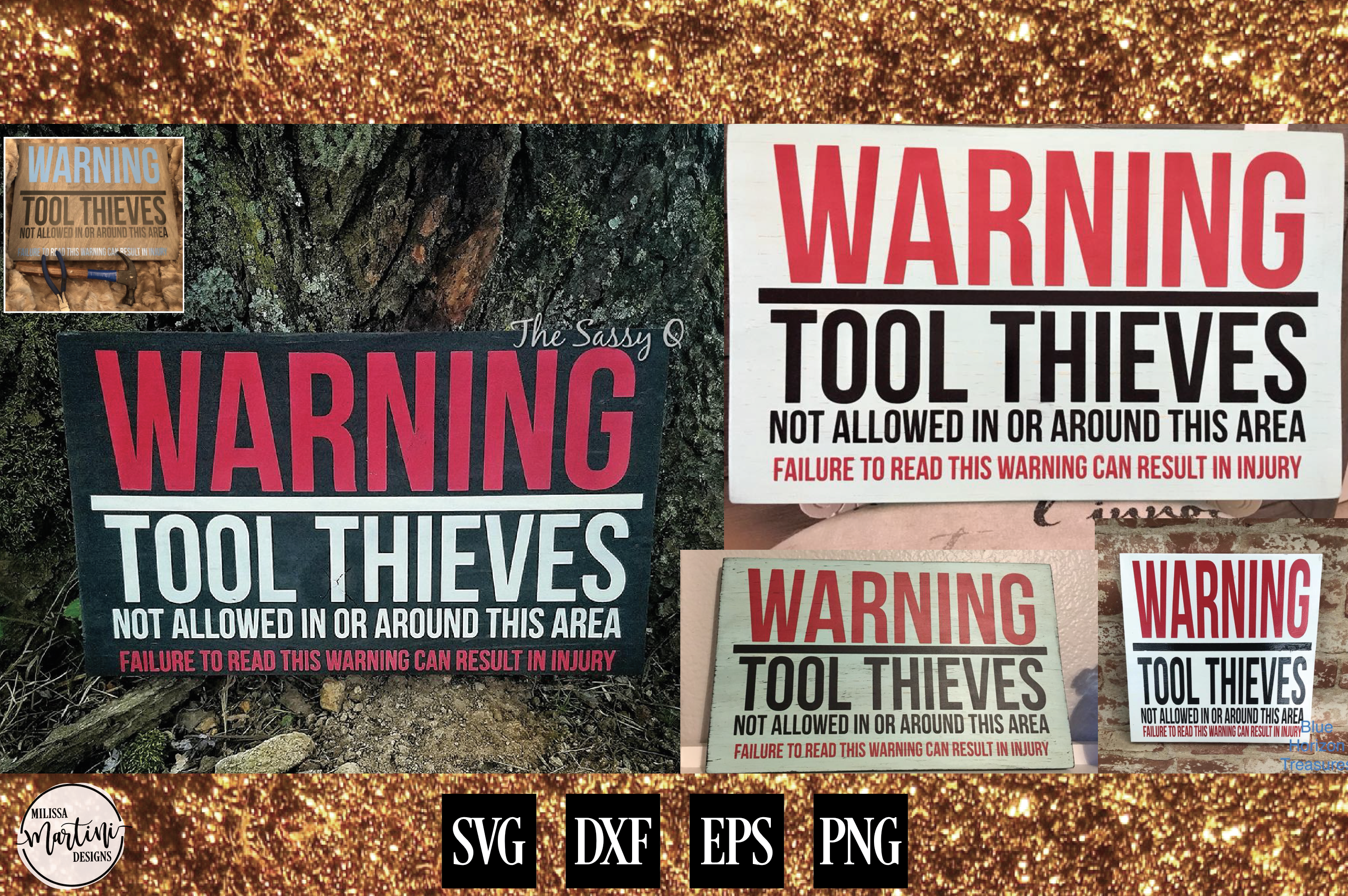WARNING TOOL THEIVES Mechanic Sign Shirt Decal example image 3
