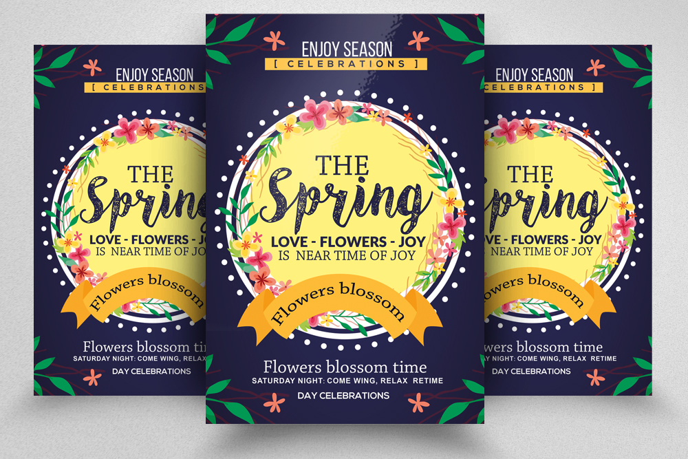 Spring Carnival Flyer Template example image 1