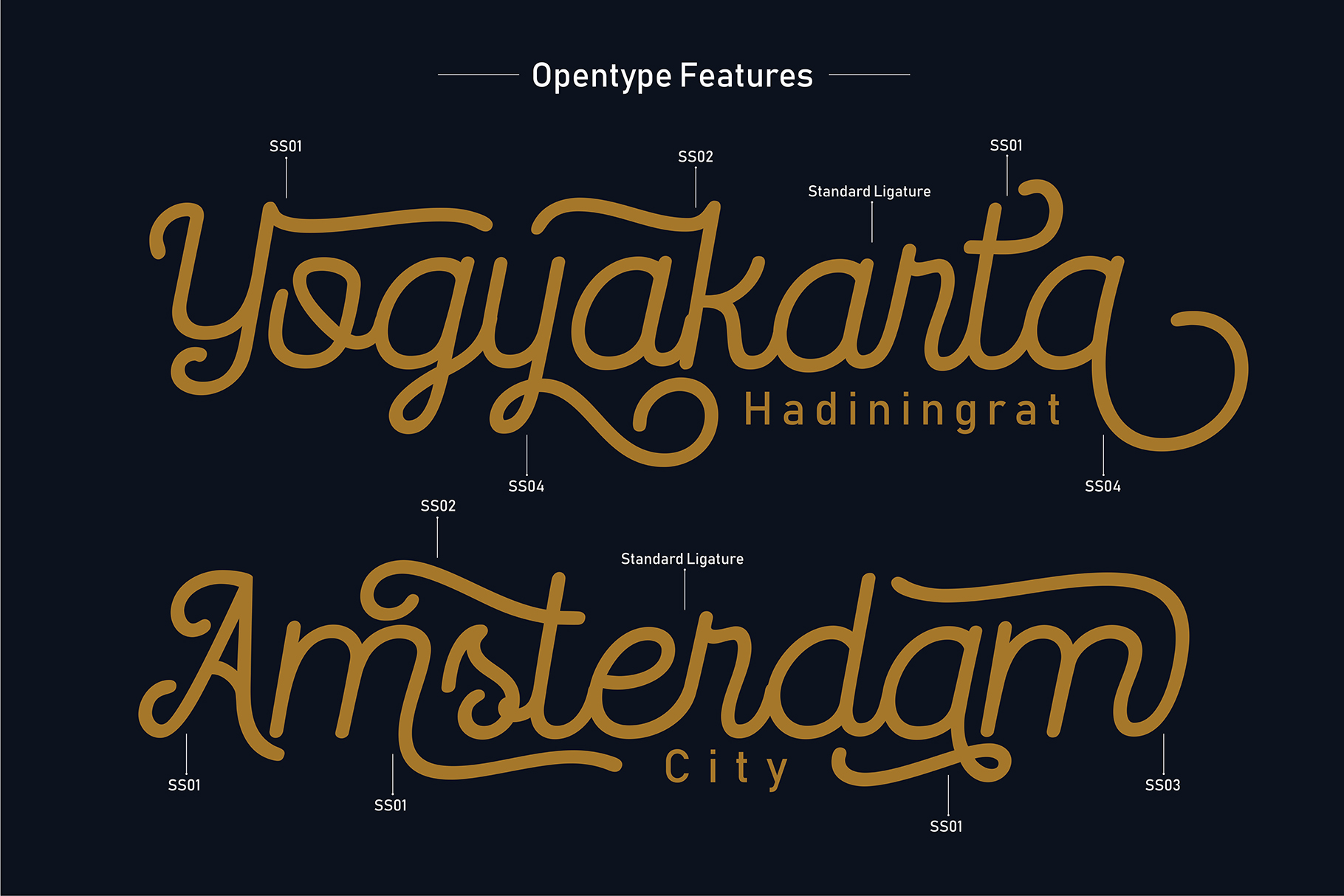 Routerline - 4 Style Font example image 4