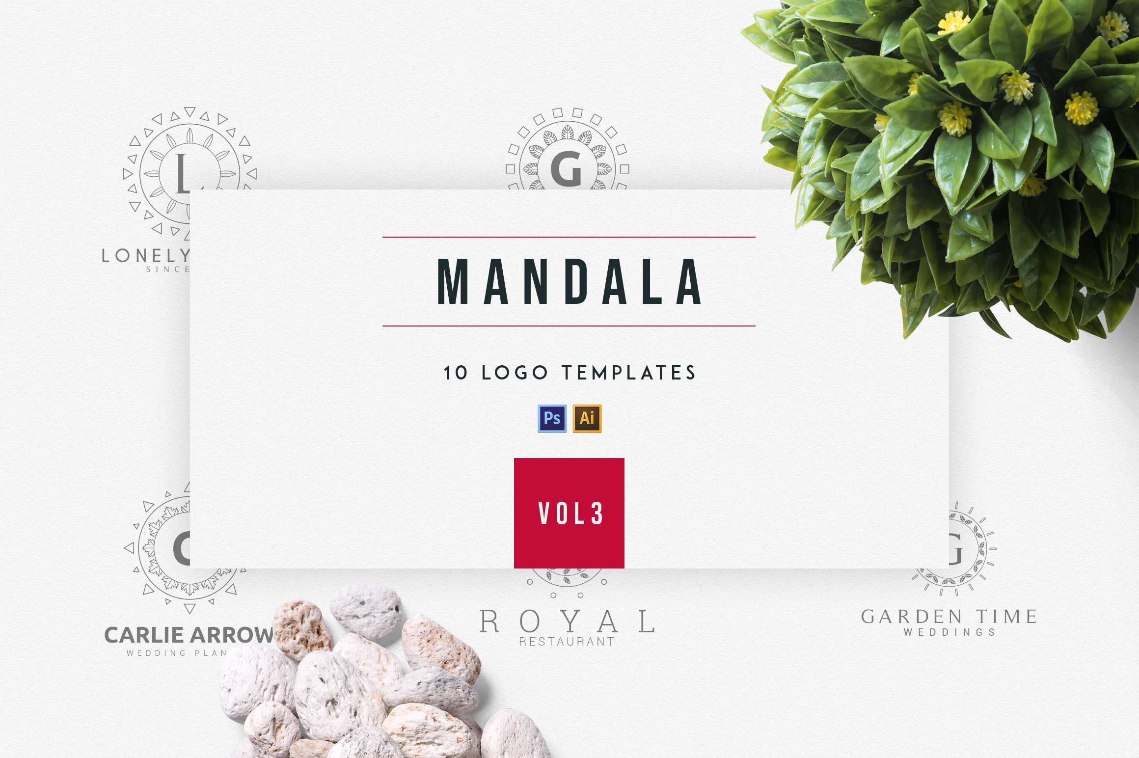 Mandala |vol.3 example image 1
