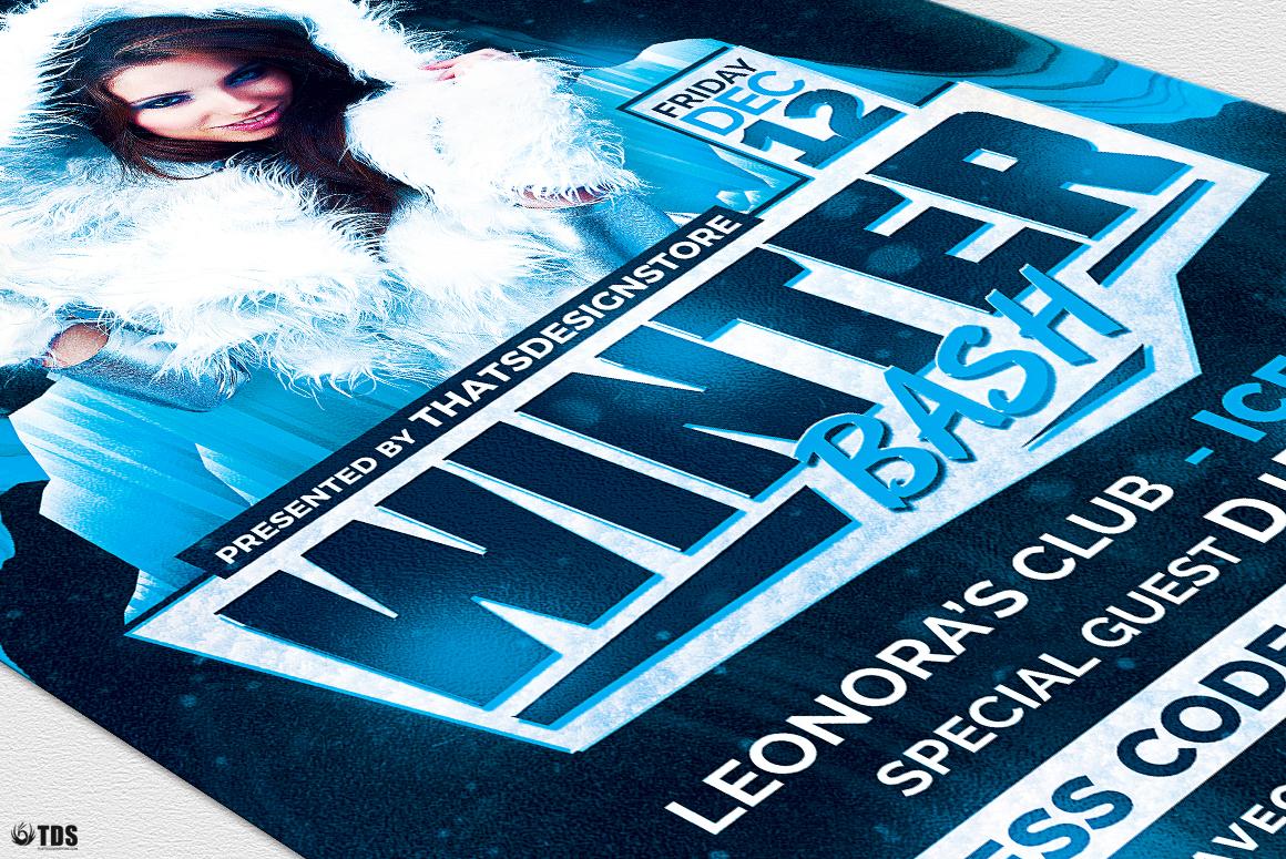 Winter Bash Flyer Bundle example image 10