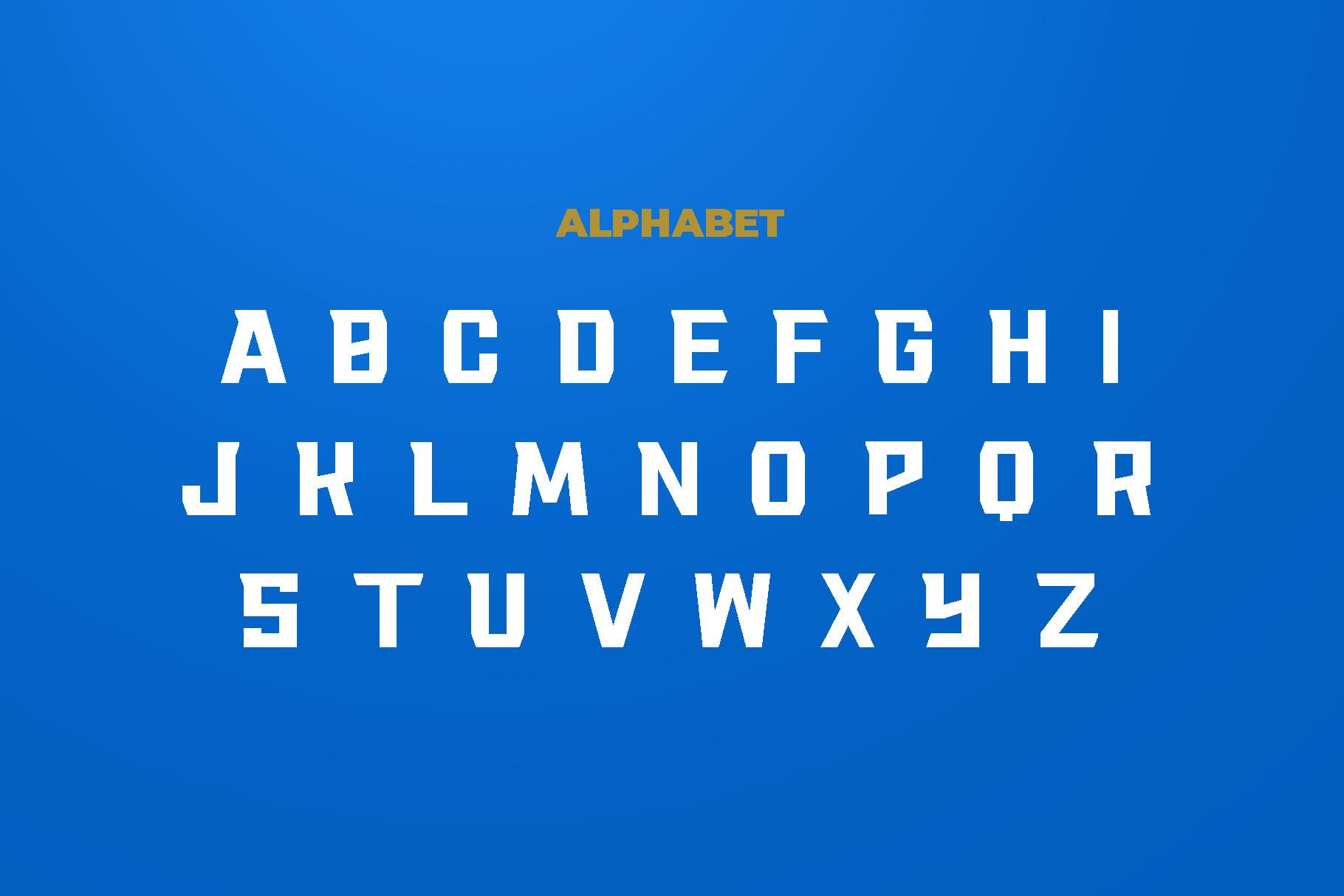 RACKIS Display Font example image 3