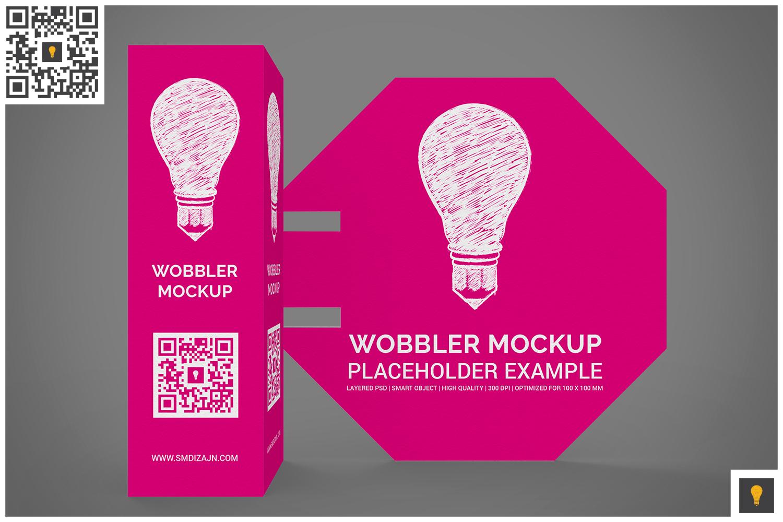 3D Wobbler Mockup example image 7