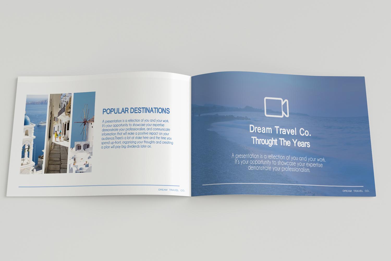 Travel Agency Printable Catalogue - A5-26 PSD Templates example image 12