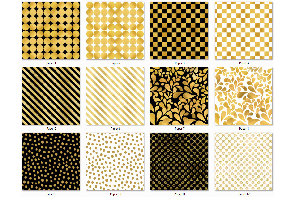 Golden Paper Collection - Paper 4 example image 2