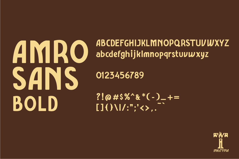 Amro Sans example image 8