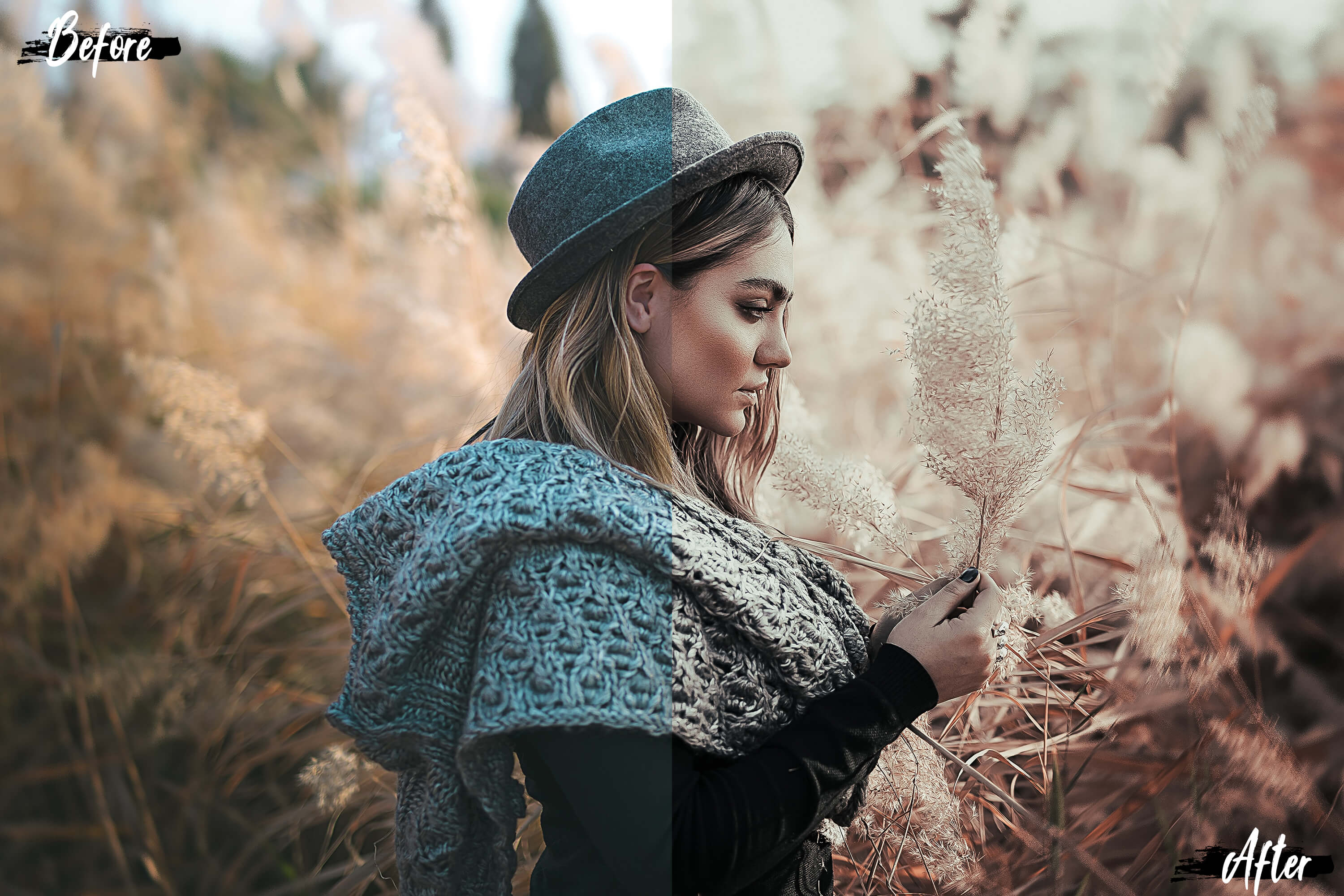5 Dreamy Autumn Photoshop Actions, ACR and LUT presets example image 4
