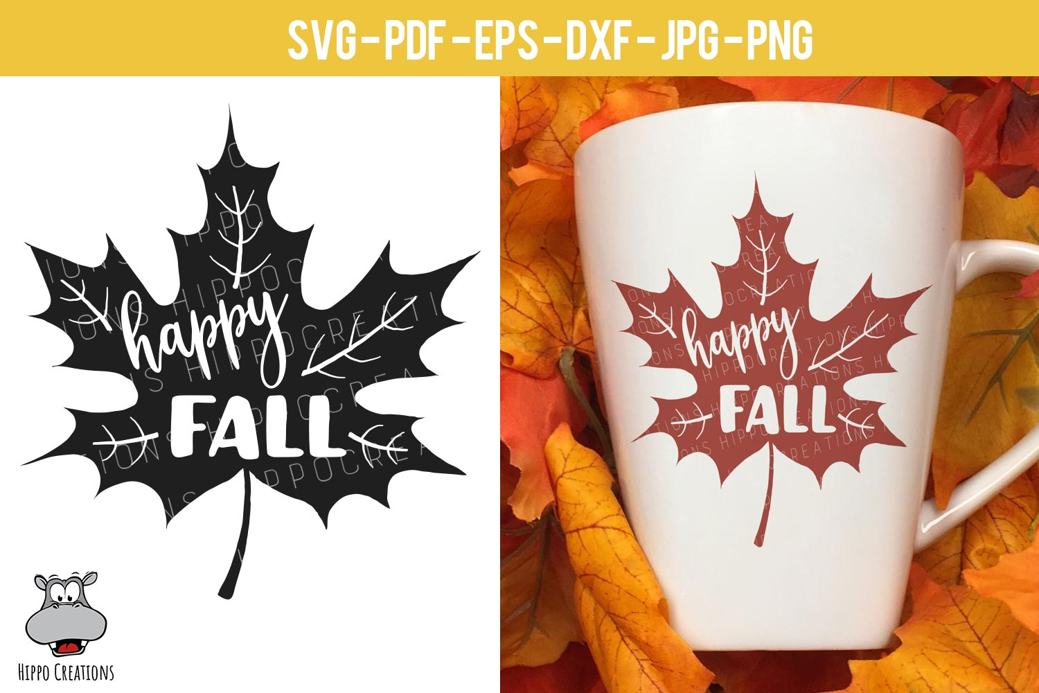 Fall Bundle SVG, Autumn Bundle, Thanksgiving, EPS DXF PNG example image 3