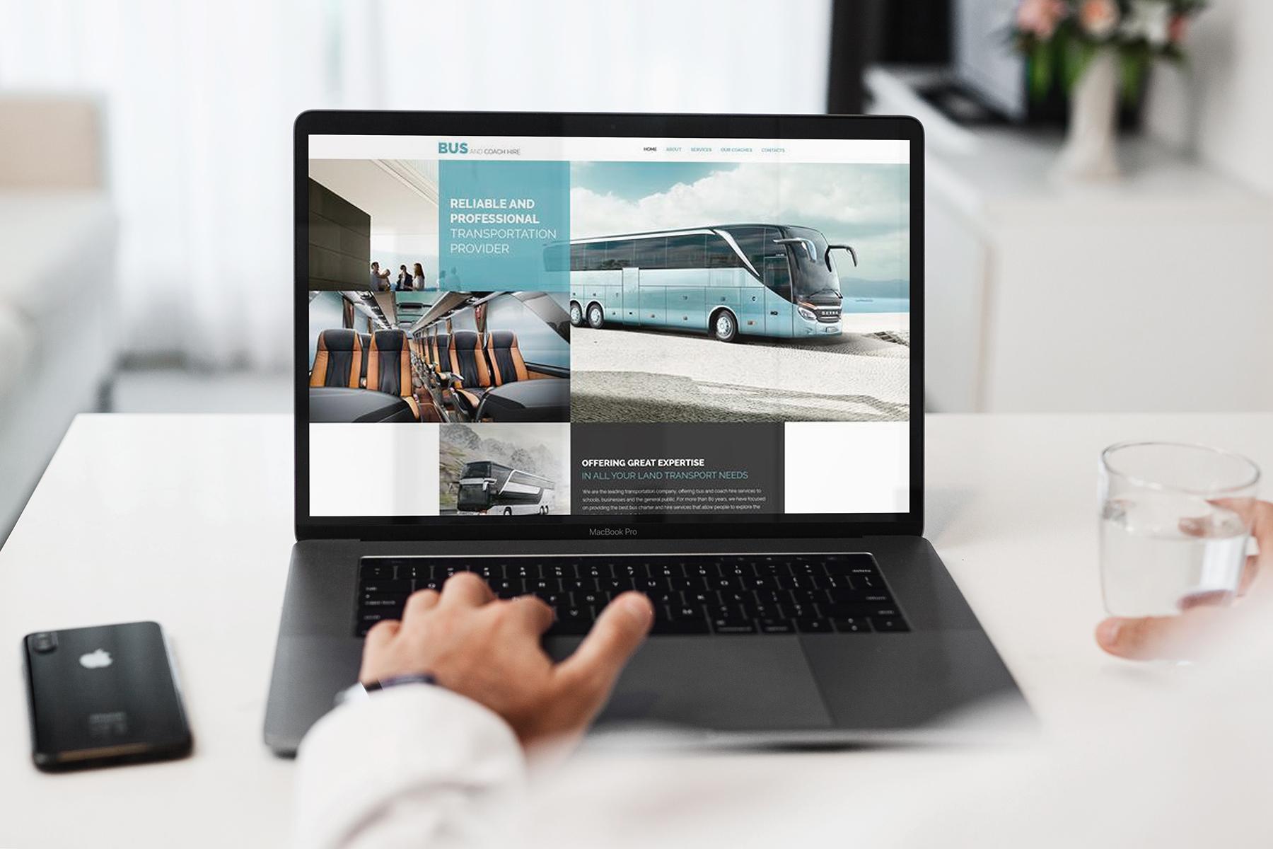MacBook Pro Responsive Mock-Up example image 3