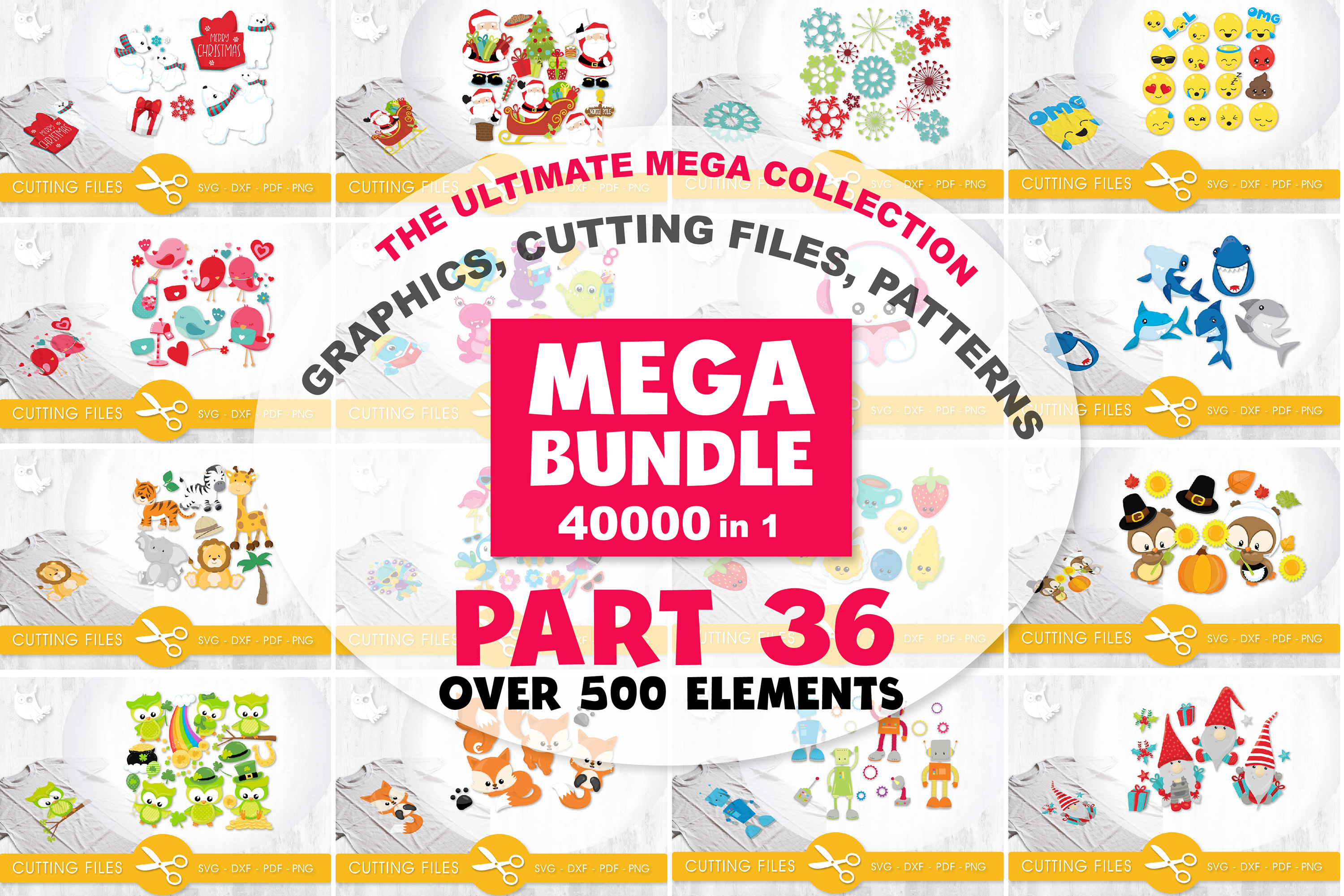 MEGA BUNDLE PART36 - 40000 in 1 Full Collection example image 1