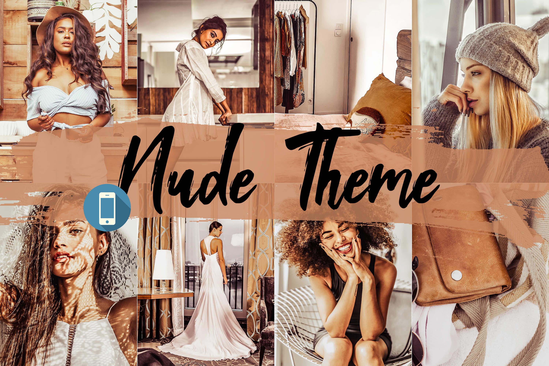 05 Nude Lightroom Presets, Beige photography portrait Adobe example image 1