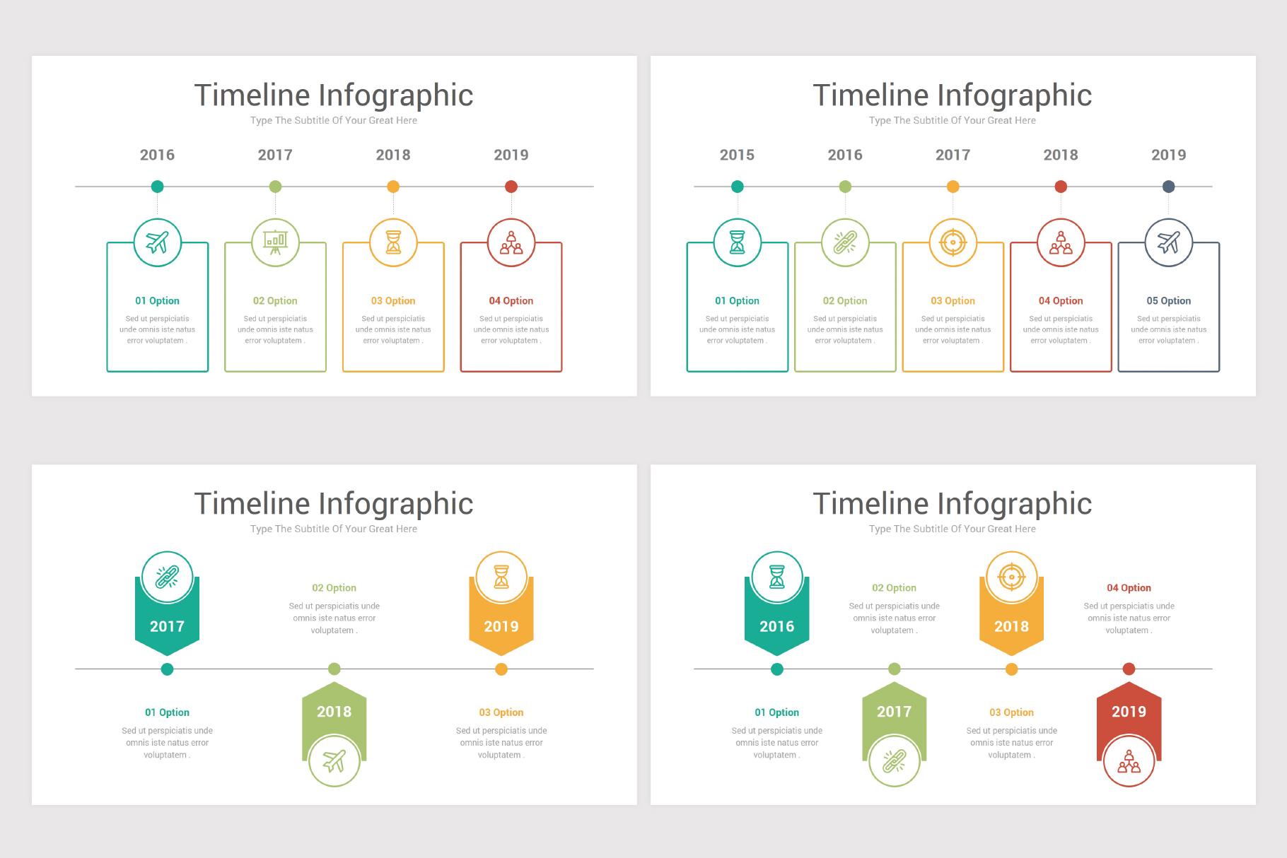 Keynote Timeline Infographics Pack-2 example image 7