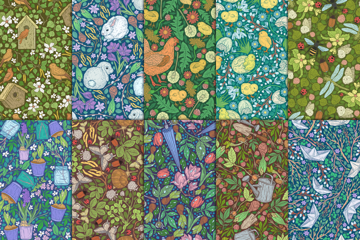 Spring Stories patterns example image 8