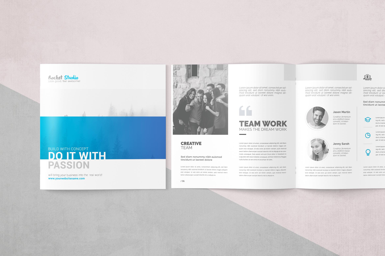 Multipurpose Square Brochure example image 1