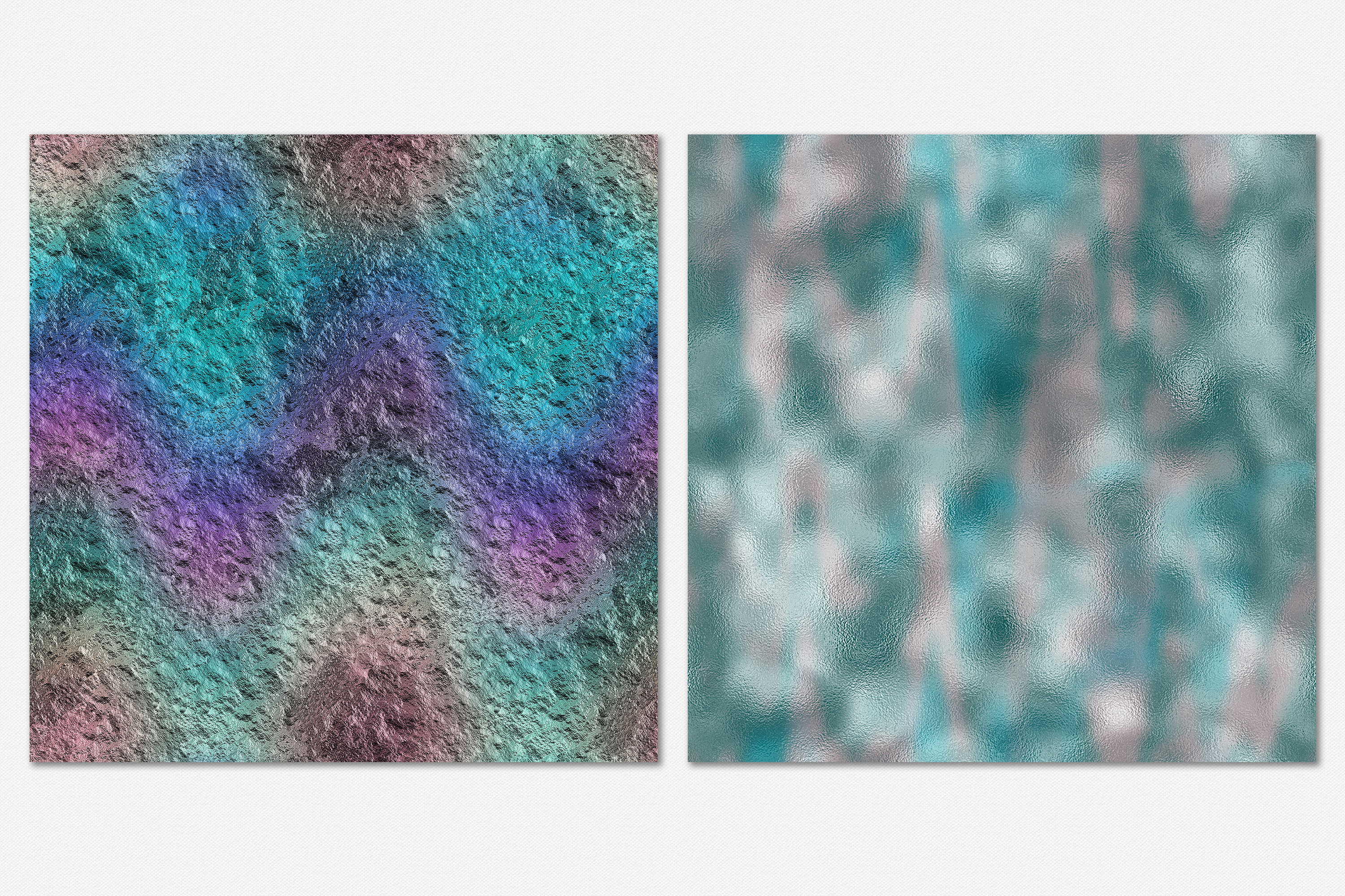 10 Iridescent Textures - Seamless Holographic Foil example image 8