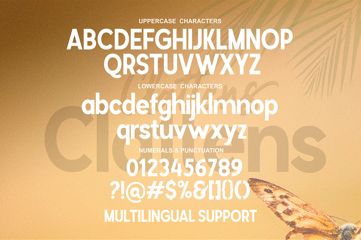 Clattens # Font Duo example image 15