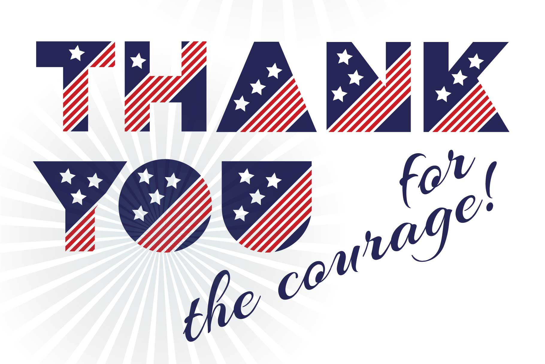 Patriot font family example image 10