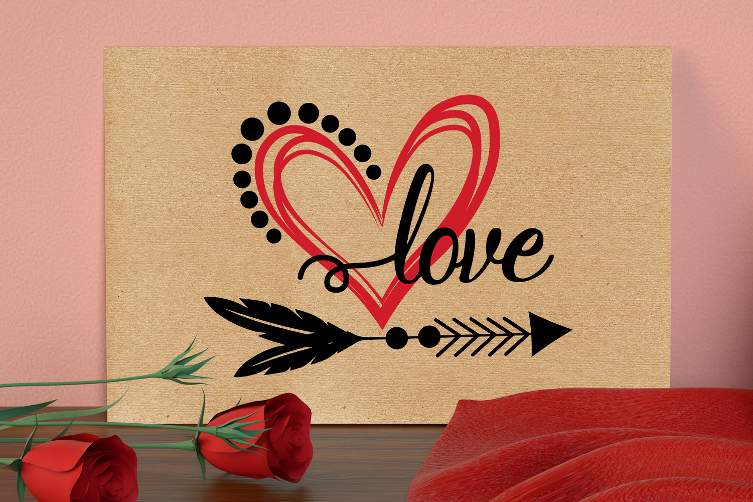 Valentines Day Svg, Love Quotes Bundle Svg example image 5