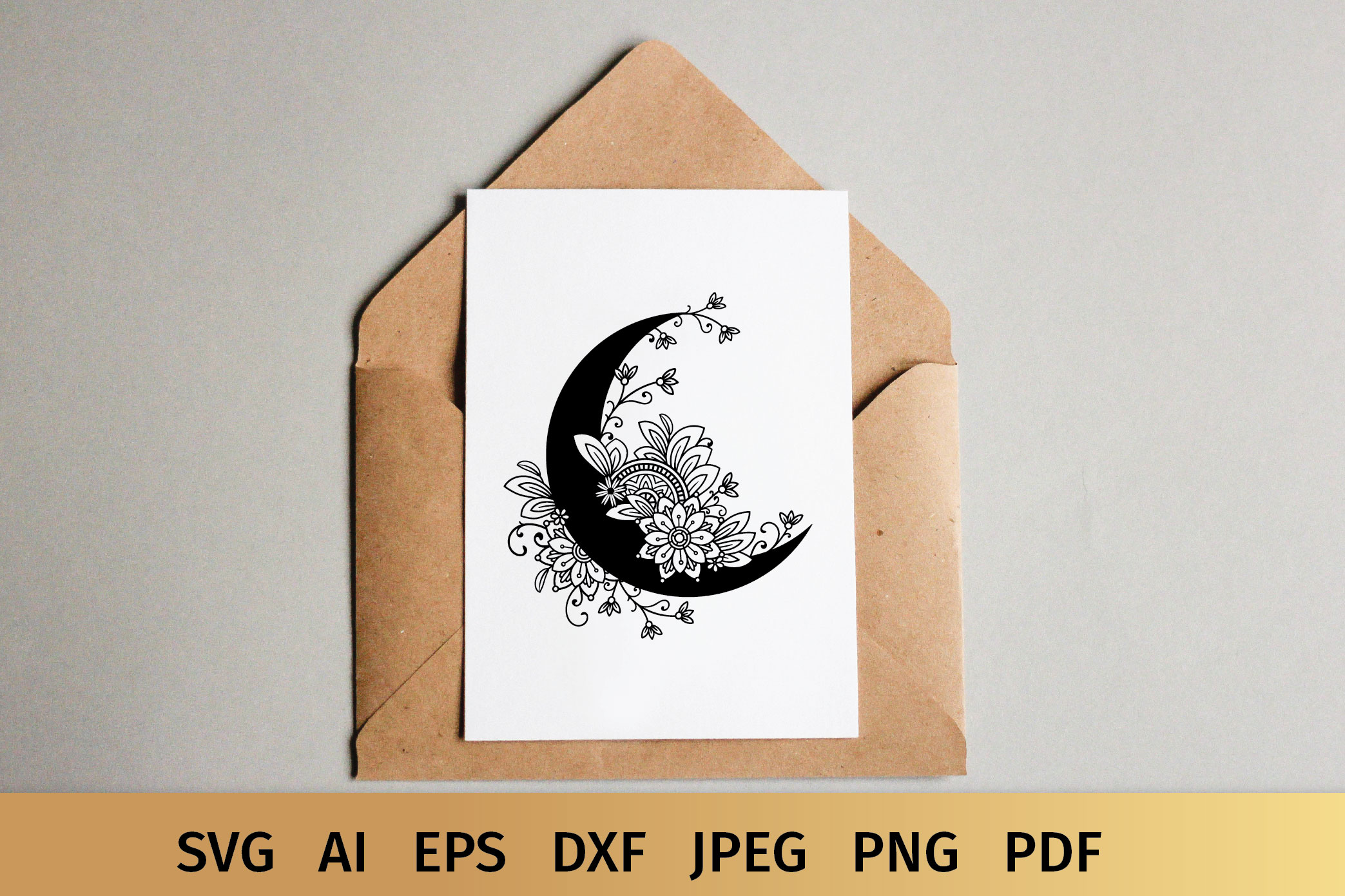 Moon SVG example image 6