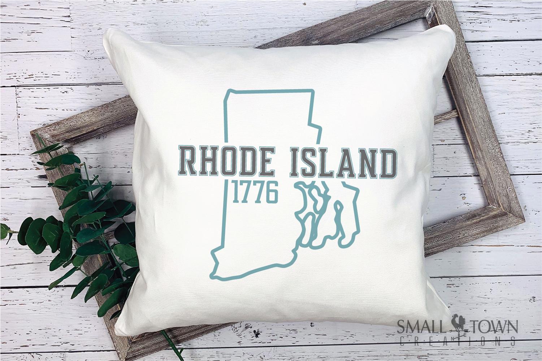 Rhode Island, Ocean State - slogan, PRINT, CUT & DESIGN example image 9