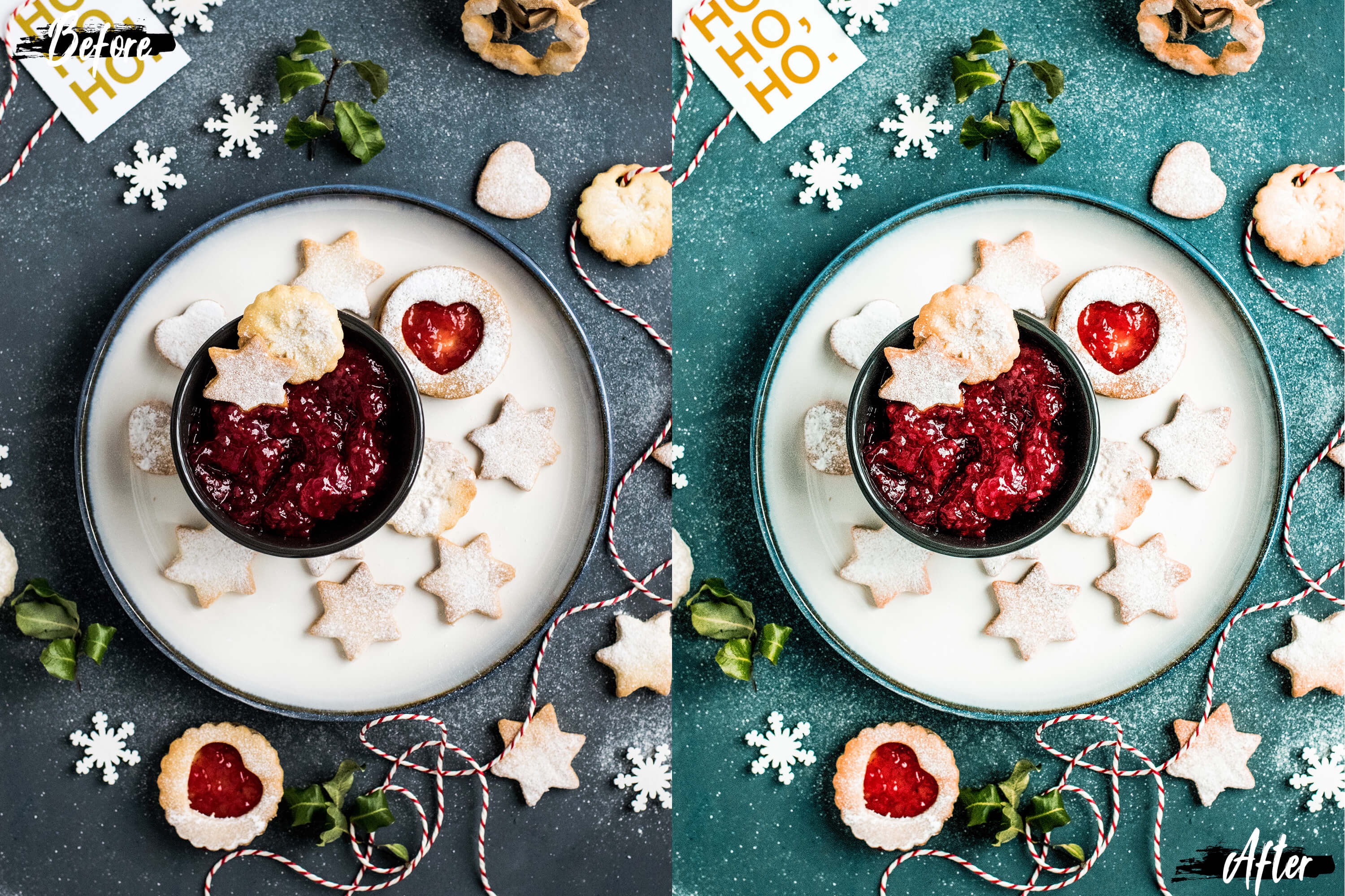 Neo Yummy Food Theme Color Grading photoshop actions example image 6