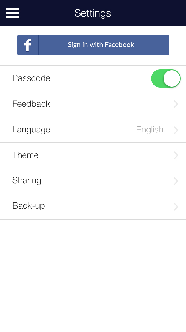 My Diary - UI Mobile Kit example image 17