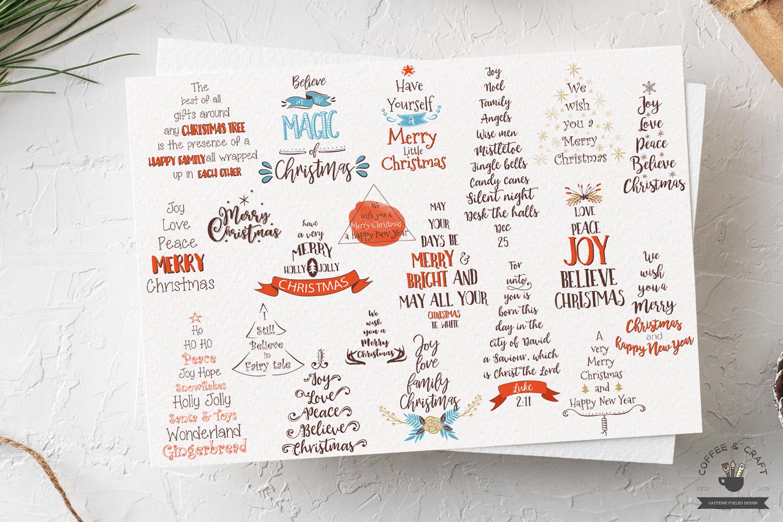 Christmas Tree Words example image 2