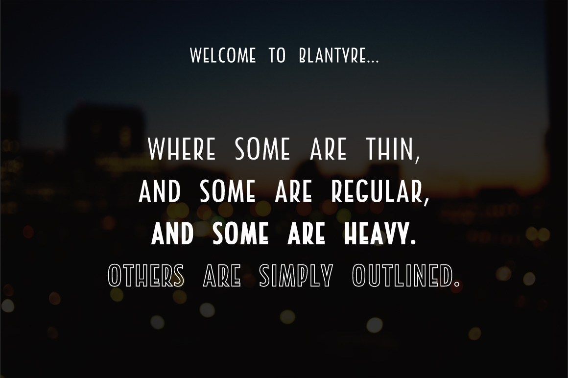 Blantyre - A New San Serif example image 5