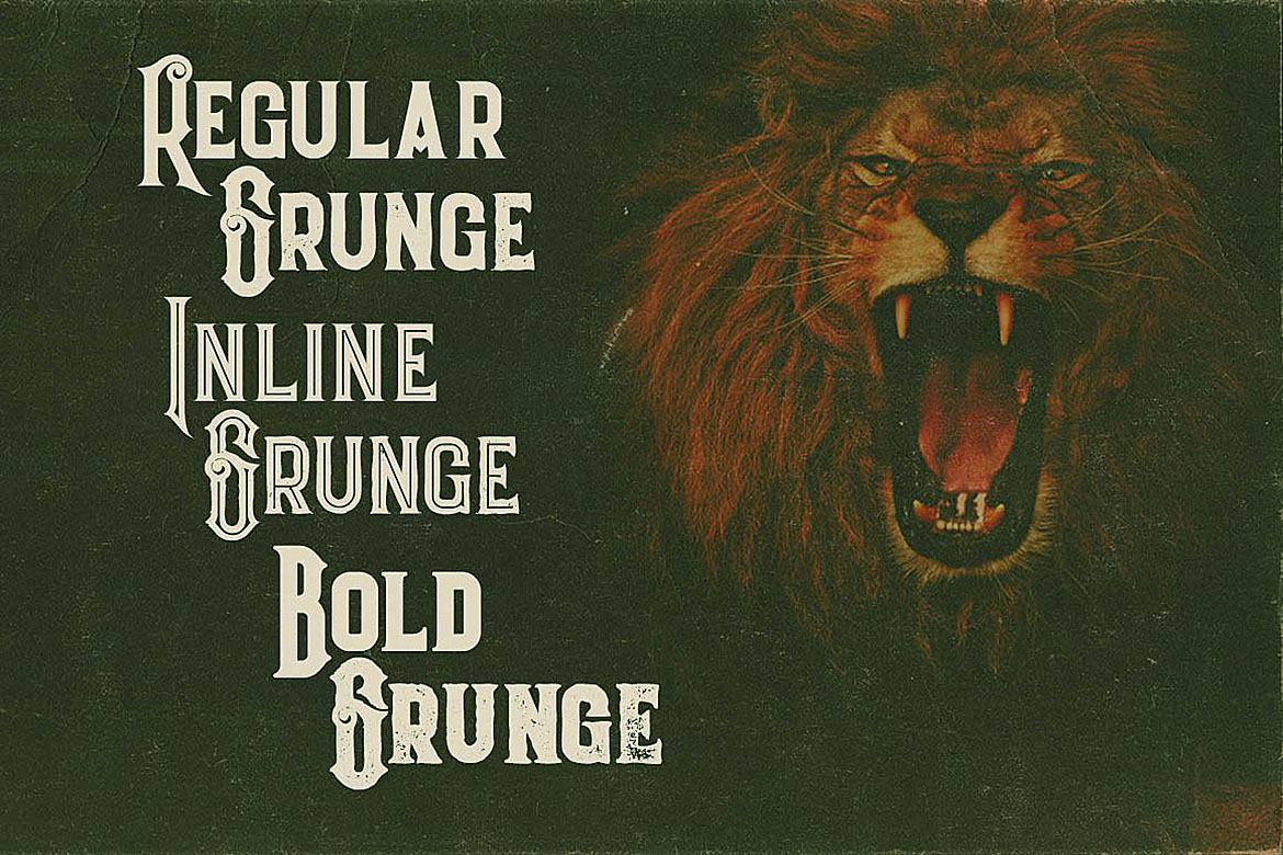 Evolve - Vintage Style Font example image 2