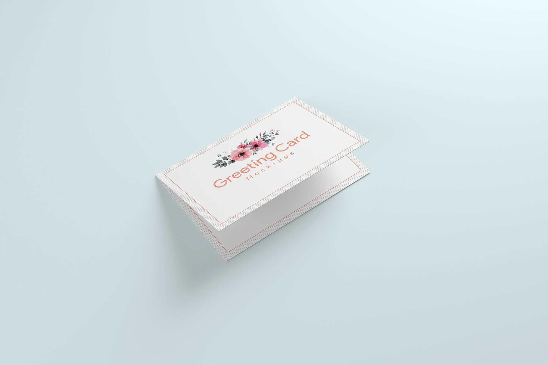 A6 Greeting Card Invitation X2 example image 8