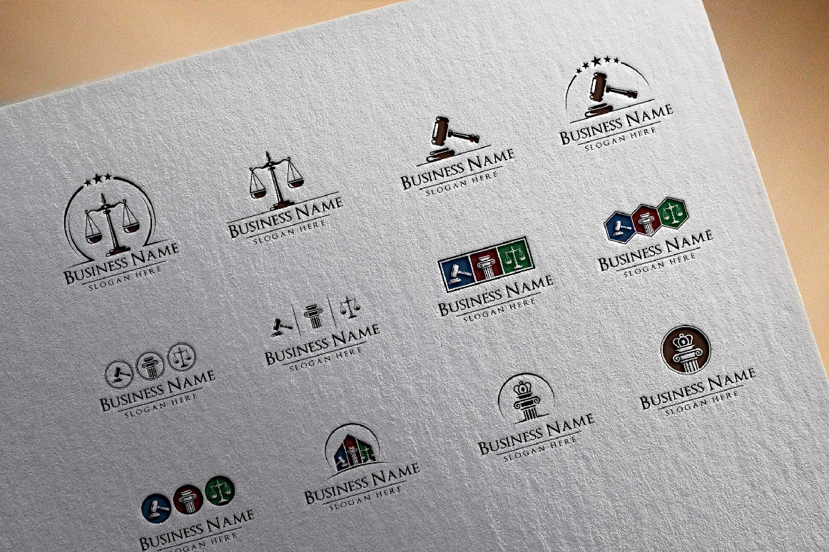 legal, law, lawyer, attorney, law office logo example image 3